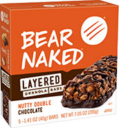 Bear Nake Nutty Dark Chocolate Bar